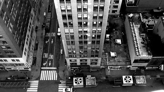 New York viewpoint by Anna Gyarmati