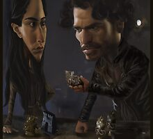 Robb and Talisa (Mild Spoiler Alert) by JenSnow
