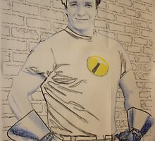 nathan fillion as captain hammer by Peter Brandt