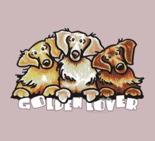 Golden Lover by offleashart