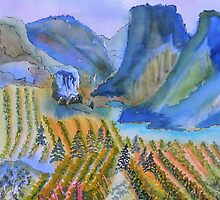 Okanagan Vineyard 2 by Warren  Thompson