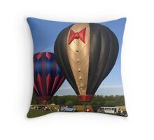 Almost Ready To Go To The Ball Throw Pillow