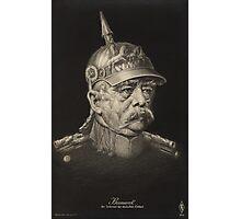 Postcard of Otto von Bismarck, c.1895 Photographic Print