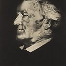 Postcard of Richard Wagner by Bridgeman Art Library