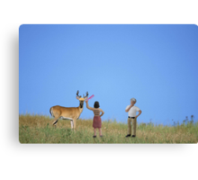 But Jimmy….you said you wanted more bang for your buck!! Canvas Print