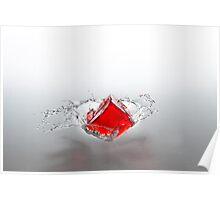 Jelly Cube Splash. Poster