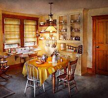 Kitchen - Typical farm kitchen  by Mike  Savad