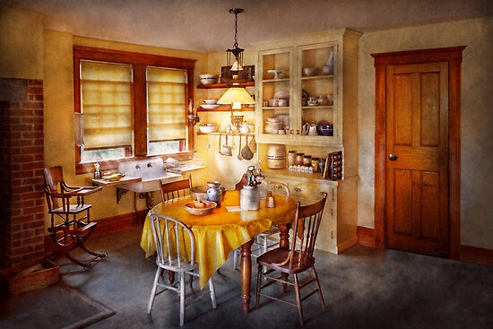 Kitchen - Typical farm kitchen  by Mike  Savad