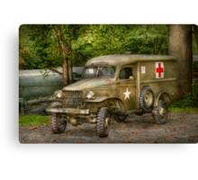 Doctor - MASH Unit  Canvas Print