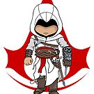 Altaïr Ibn-La'Ahad: Assassins Creed Chibi by SushiKitteh's Creations