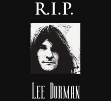 R.I.P. Lee Dorman by mirjenmom