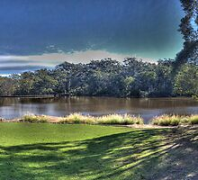 Relax at Lake Parramatta by ©Josephine Caruana