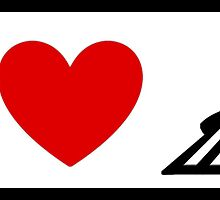 I Heart Space Mountain (Classic Logo) by ShopGirl91706