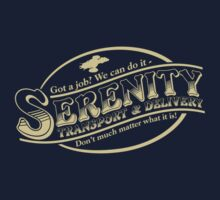 Serenity Transport & Delivery Service by Dane Ault