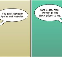 apple and android webcomic by Binary-Options