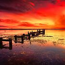 Gorokan Jetty Sunrise # 2 by Arfan Habib