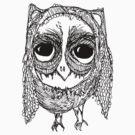 Wonky Owl-2 by annieclayton