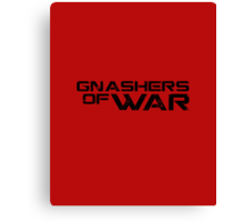 Gnashers of War (Gears of War) Canvas Print