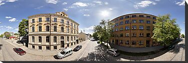 Creative district on Miera street, Riga, Latvia by paulsrphoto
