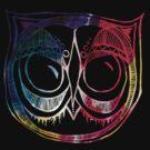 Giant eyes Owl 4 - Colour by annieclayton