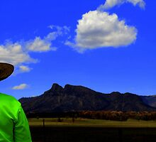 HiVis shirt at the Warrumbungles National Park by myraj