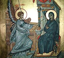 Annunciation by painterflipper