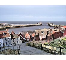 Harbour View. Whitby. Photographic Print