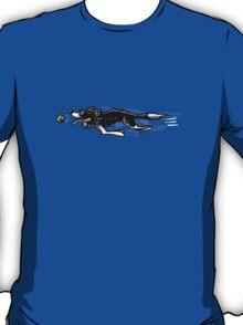 Border Collie in Action {dark} T-Shirt