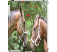 HORSE CODE  iPad Case/Skin