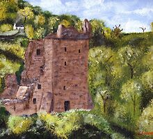 Grant Tower : Urquhart Castle by Stuart  Fellowes