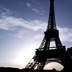 Eiffel Tower at Sunset  by HazardousCoffee