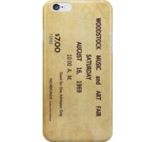 Woodstock iPhone Case/Skin