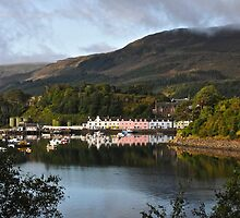 Portree Harbour, Isle of Skye, Scotland. by Ross Hutton