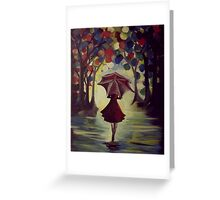She Who Braves the Storm of Life Greeting Card