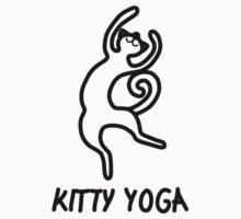 Kitty yoga 4 by Blonddesign
