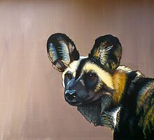 African Hunting Dog by ianspetportrait