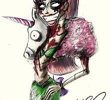 Zombie Jade Jolie  by Hannah Chusid