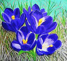 Crocus Flowers by maggie326