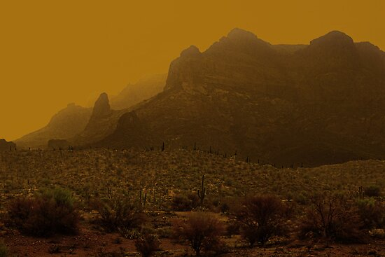 Dust Storm in Arizona by Thomas Barker-Detwiler