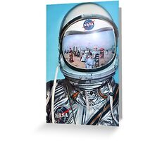 Re-entry Malfunction. Greeting Card