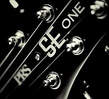 PRS SE One Headstock 3 by Paul Shellard