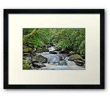 Torc , Kerry, Ireland. Framed Print