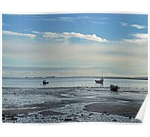 Holy Island Bay Poster