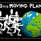 350.org Moving Planet Rally Poster by Luke Massman-Johnson