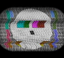 Skull test card by renduh