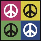 "Peace "" Multicolored Peace Signs "" by T-ShirtsGifts"