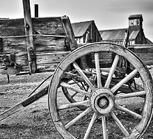 Old West Wagon by James Eddy