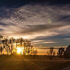 Farming an Early Morning Sunrise by Casey Peel