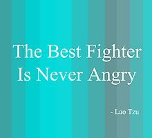 'Fighter' By Lao Tzu  by © Sophie W. Smith