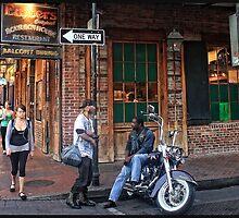 Bourbon Street Biker by Mikell Herrick